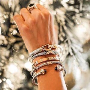 Jewelry - Cable Bracelets - not designer, just similar